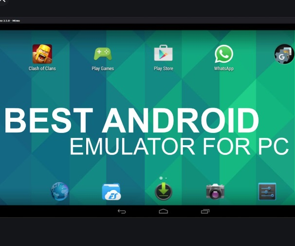 Android emualtors for pc